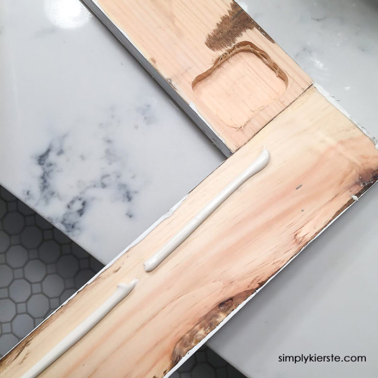 DIY Framed Mirrors | simply kierste.com