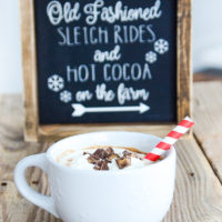 Reese's Peanut Butter Hot Chocolate