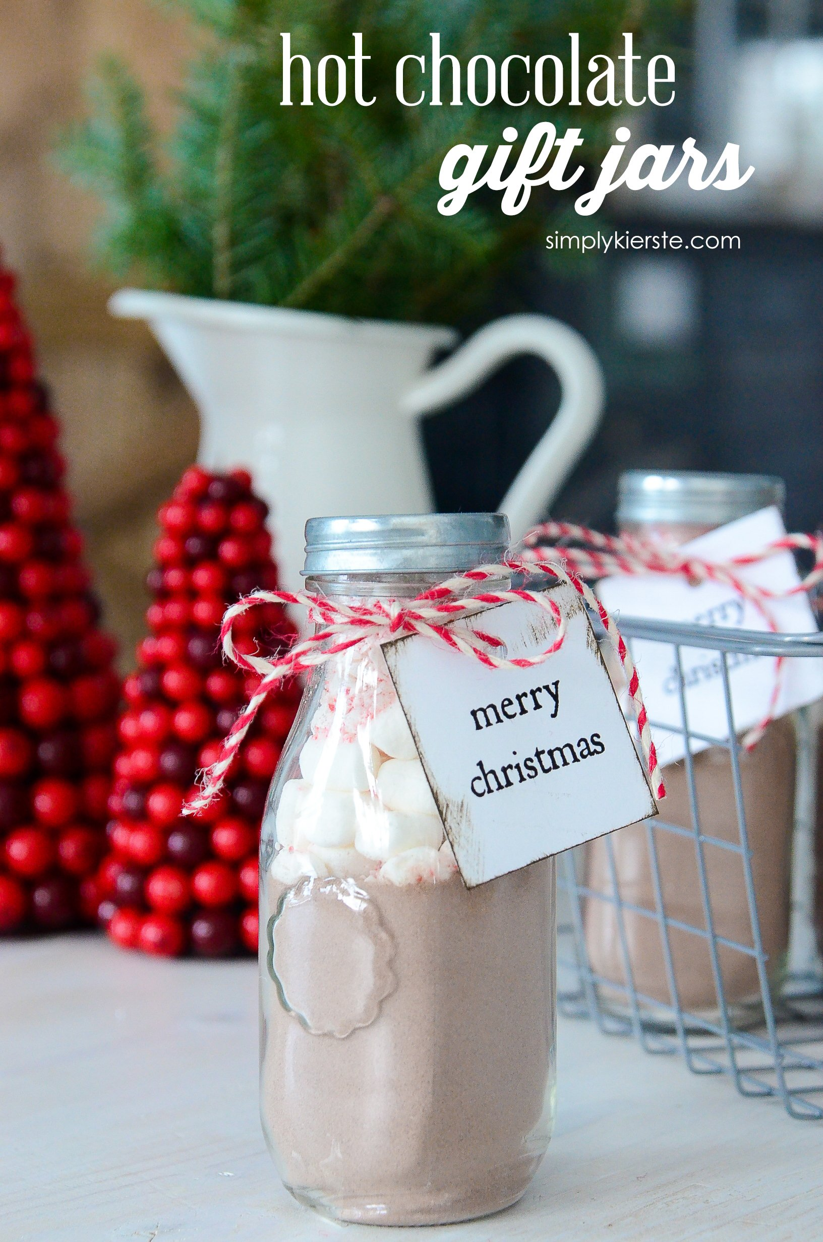 Hot Chocolate Gift Jars
