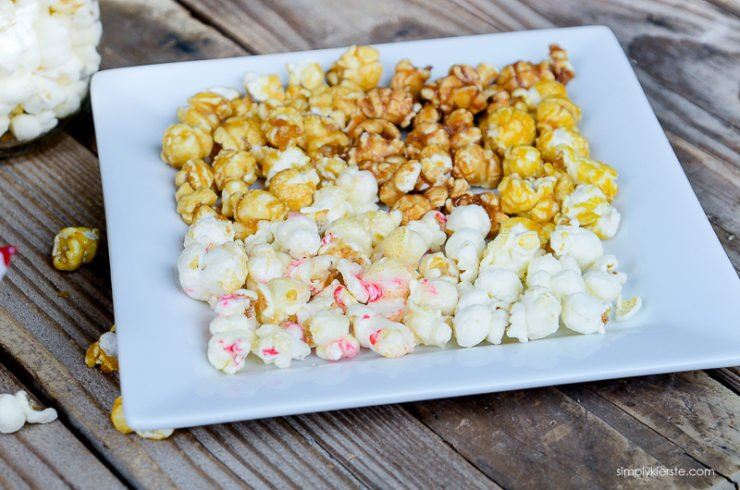 Easy Christmas Popcorn Gift Idea | simply kierste.com