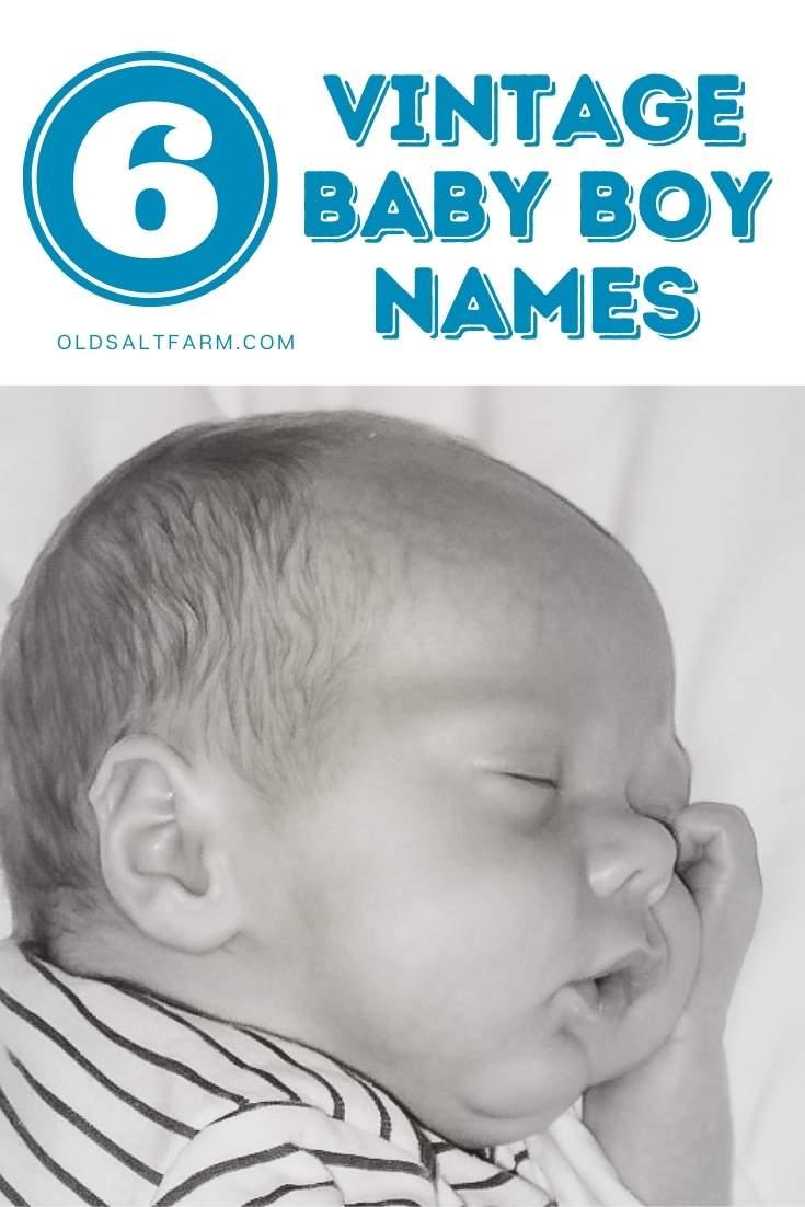 Vintage Baby Boy Names