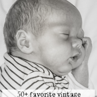 50+ Favorite Vintage Baby Boy Names