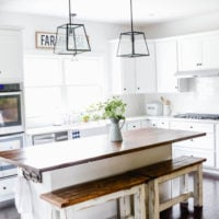 DIY Kitchen Benches | Kitchen DIY on a Budget