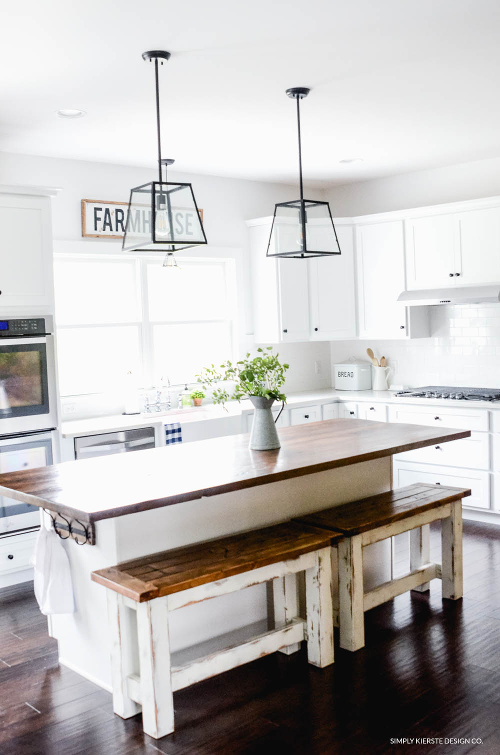 DIY Kitchen Benches
