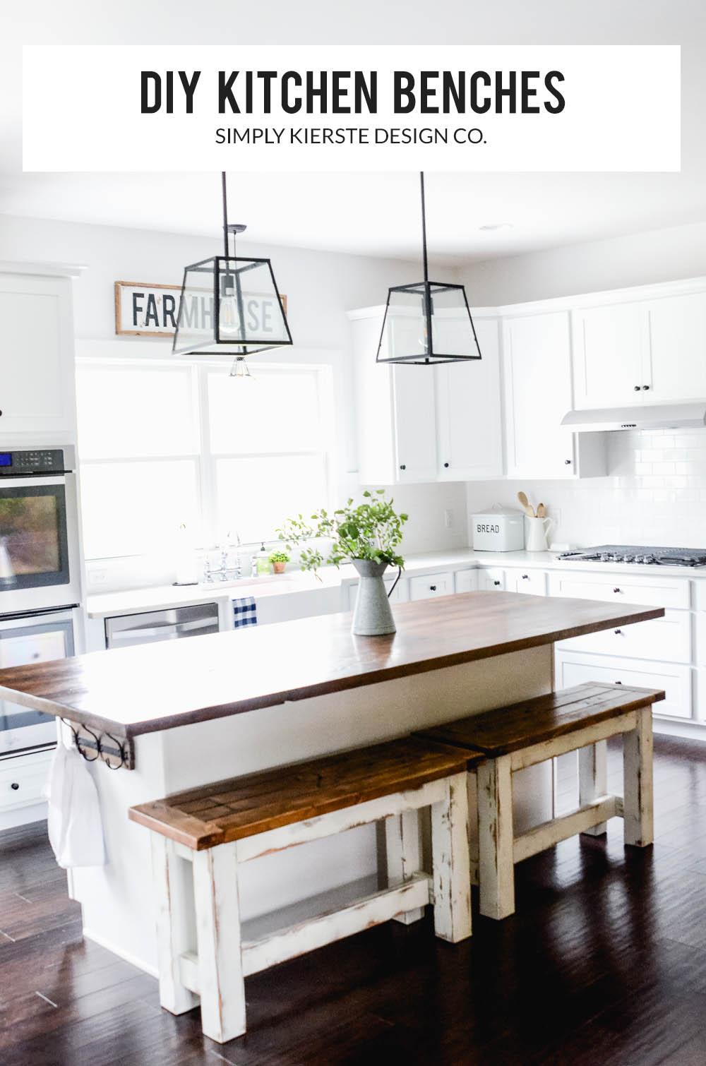 Sensational Diy Kitchen Benches Budget Kitchen Ideas Farmhouse Style Beatyapartments Chair Design Images Beatyapartmentscom