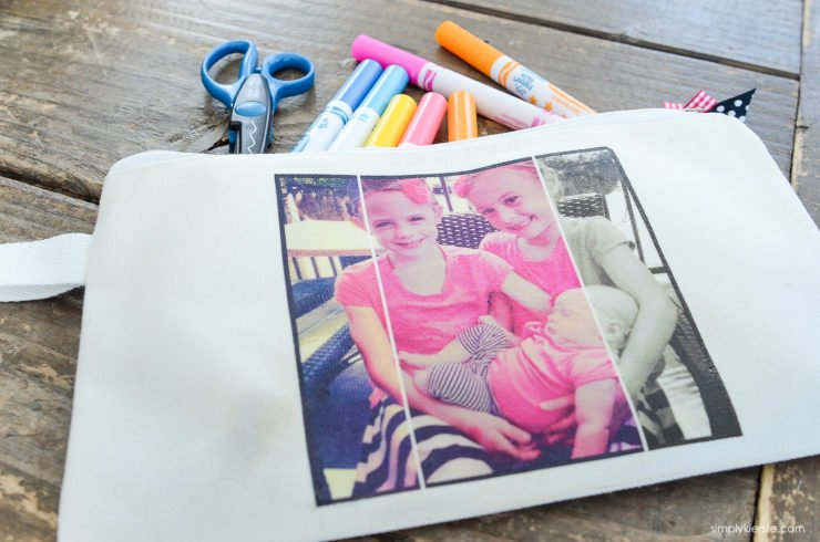 DIY Photo Pencil Pouch | simply kierste.com