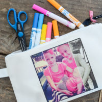 DIY Photo Pencil Pouch