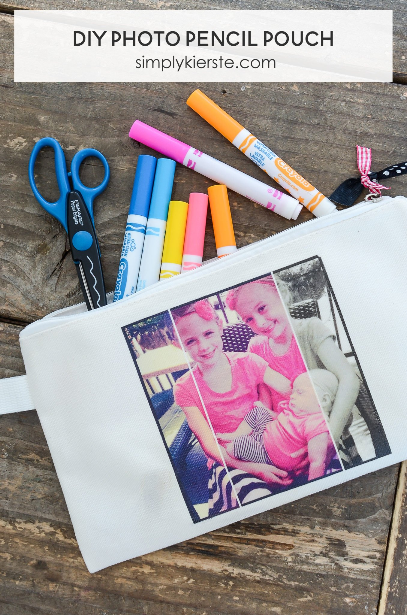 DIY Photo Pencil Pouch