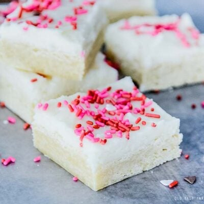 Soft & Chewy Sugar Cookie Bars
