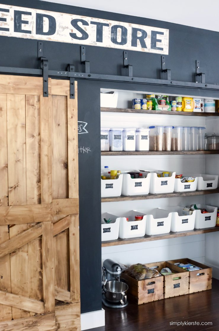Kitchen Pantry Organization | simplykierste.com