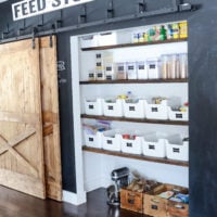 Kitchen Pantry Organization | oldsaltfarm.com