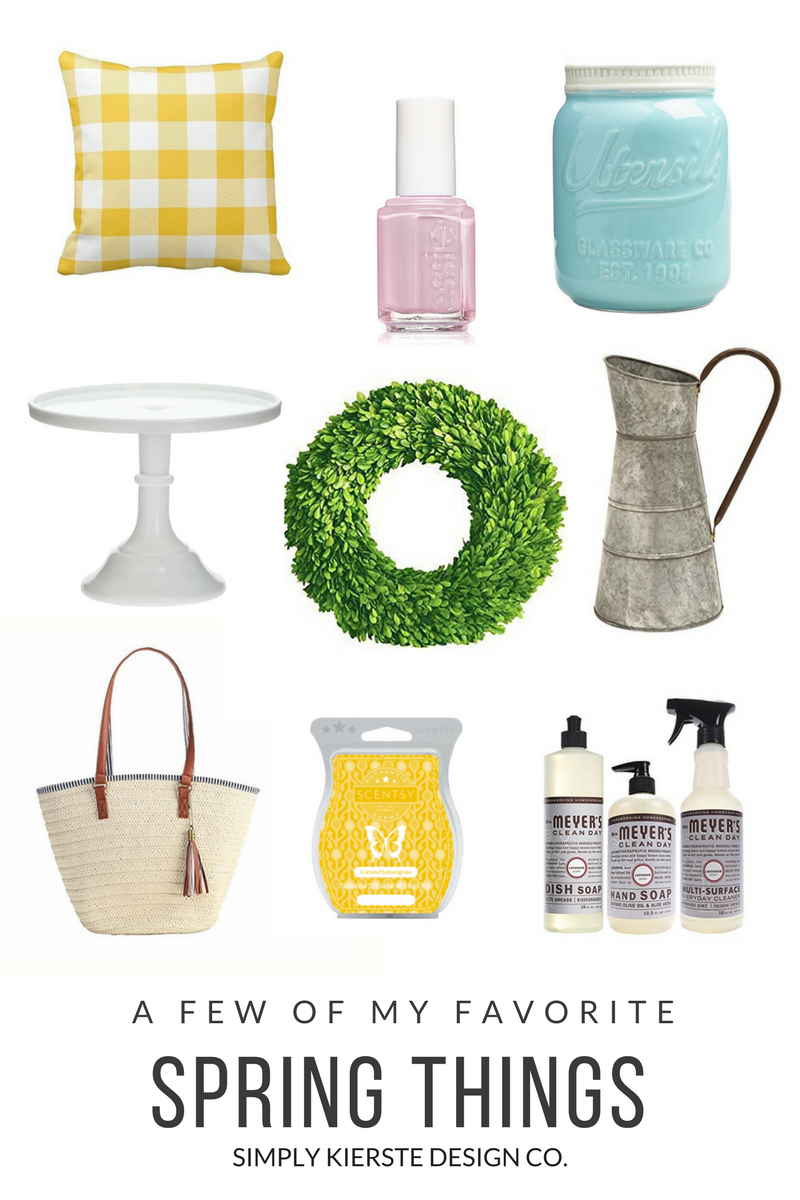 A Few of My Favorite Spring Things