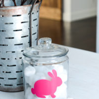 Bunny Tail Service Jar