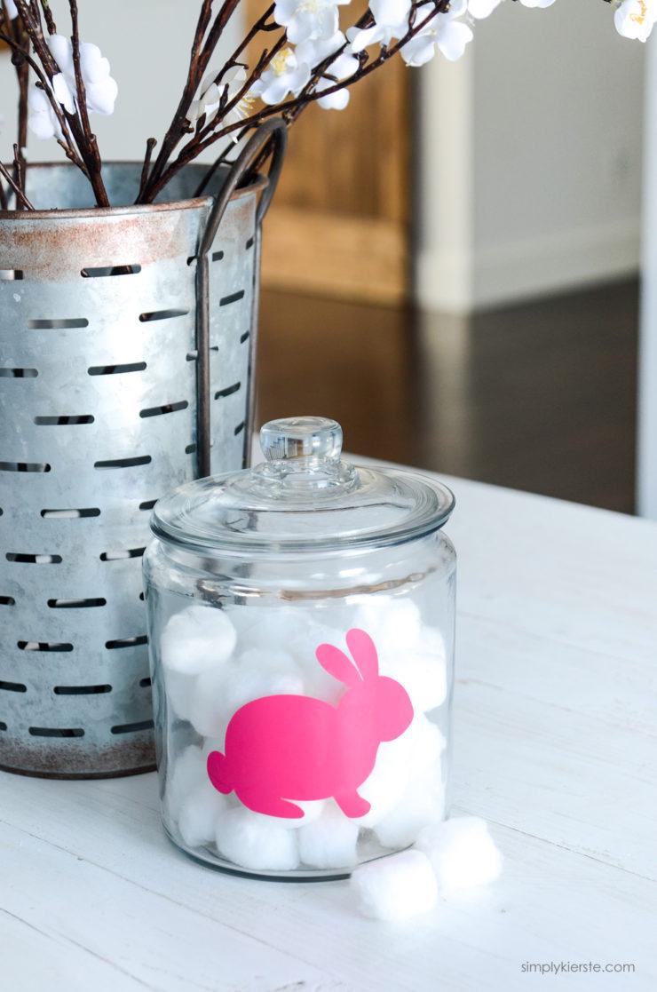 Bunny Tail Service Jar | simply kierste.com
