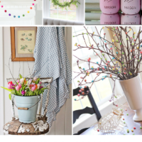 Simple & Adorable Spring Decor Ideas | oldsaltfarm.com
