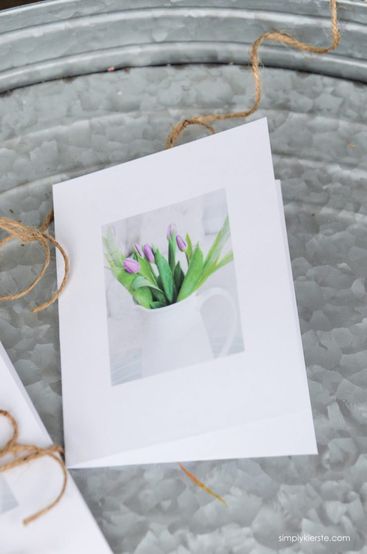 Spring Flowers Note Cards   oldsaltfarm.com