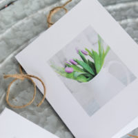 Spring Flowers Note Cards