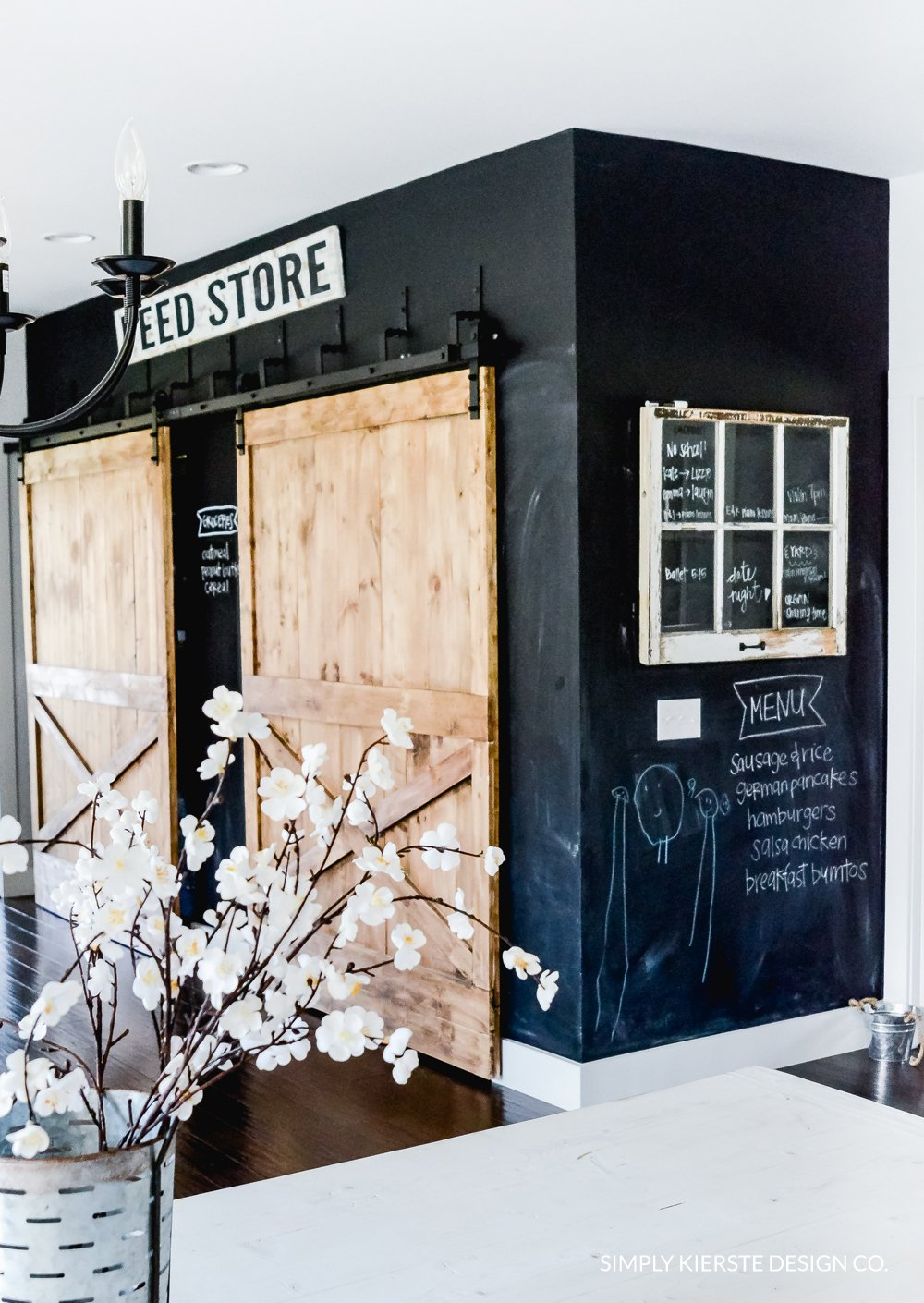 Why I Love My Chalkboard Wall | Simply Kierste Design Co.