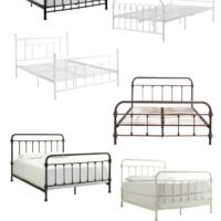 Farmhouse Metal Beds | simply kierste.com