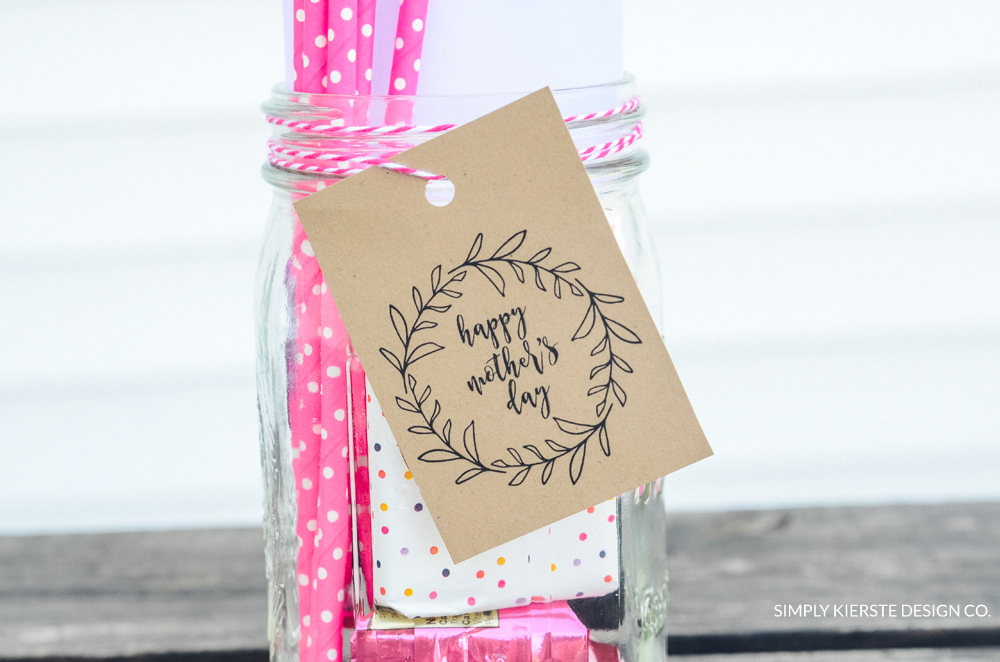 Mother's Day Gift Jar | simply kierste.com