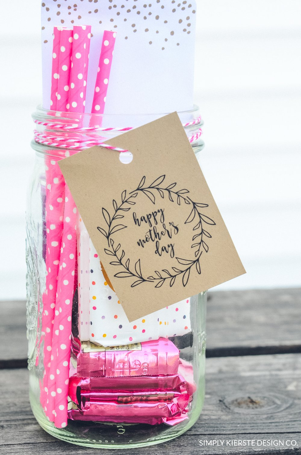 Mother's Day Gift Jar | simply kierste.com