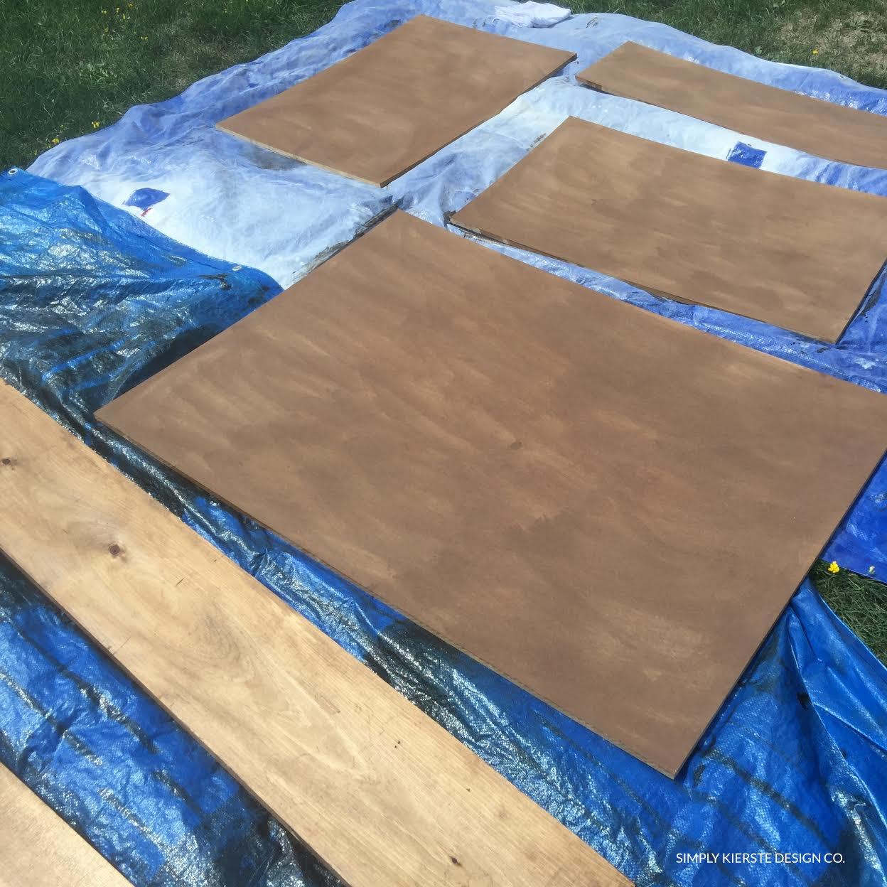 DIY Wood Framed Flag | simply kierste.com