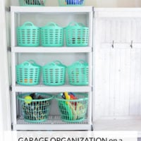 Garage Organization on a Dollar Store Budget!