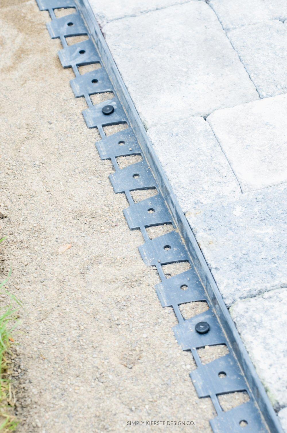DIY Paver Patio | simply kierste.com