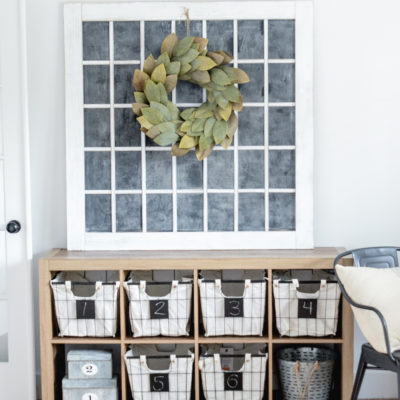 Farmhouse Style: Office Storage Ideas