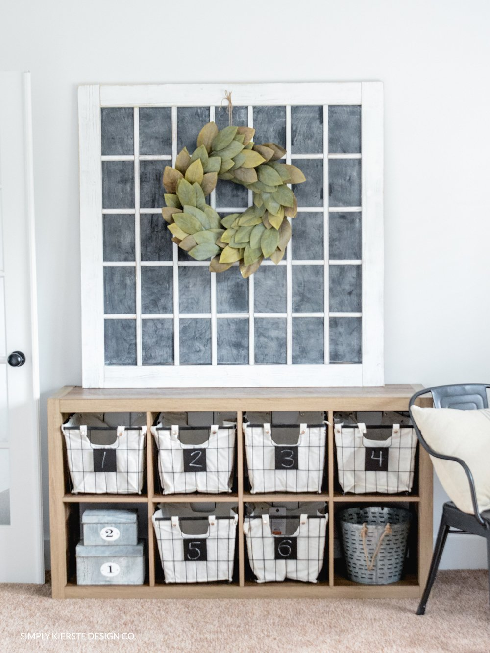 Farmhouse Style: Office Storage Ideas - Simply Kierste Design Co.