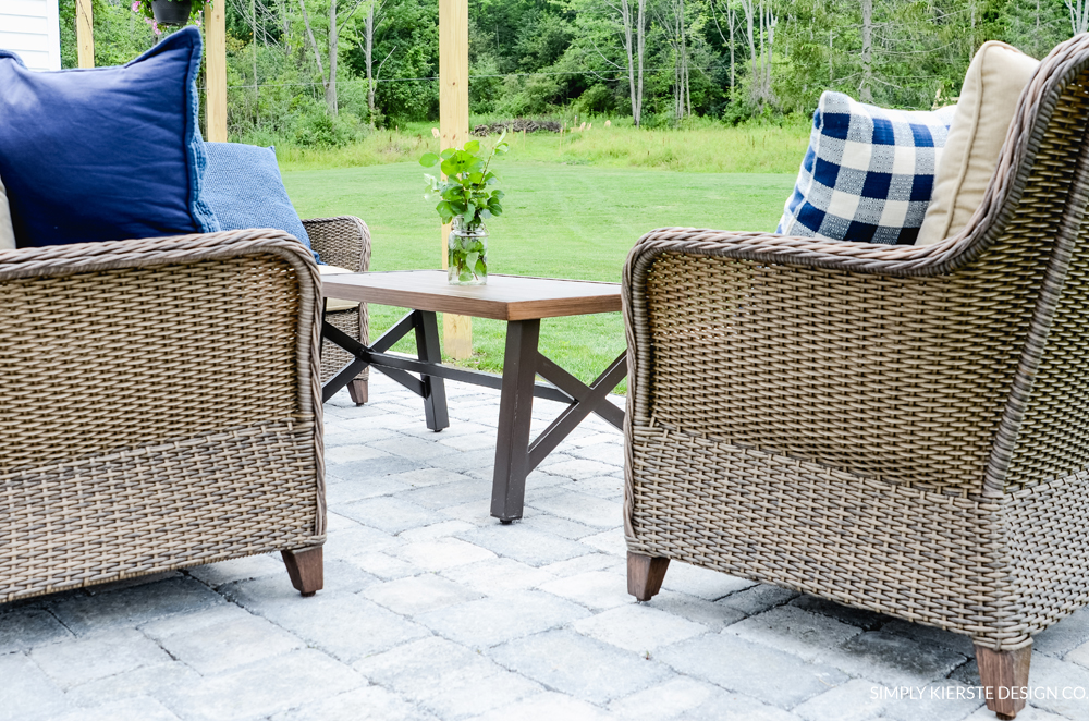 Backyard Patio Makeover | simplykierste.com