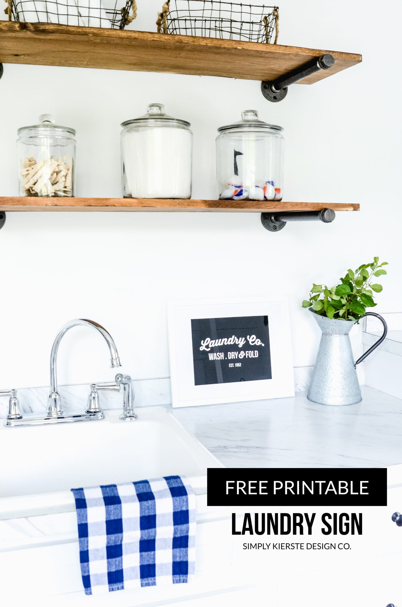 Printable Laundry Sign   simply kierste.com