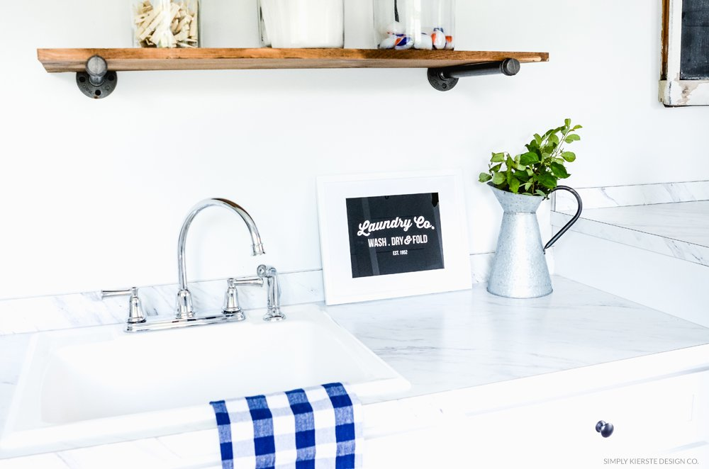 Printable Laundry Sign | simply kierste.com