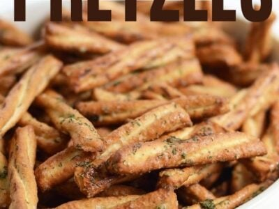 Seasoned Glazed Pretzels