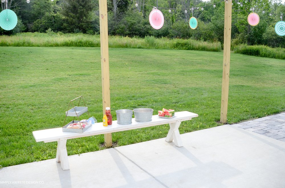 Outdoor Tween Girl Party for under $100 | simplykierste.com