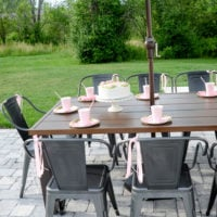 Outdoor Tween Girl Birthday Party for under $100!