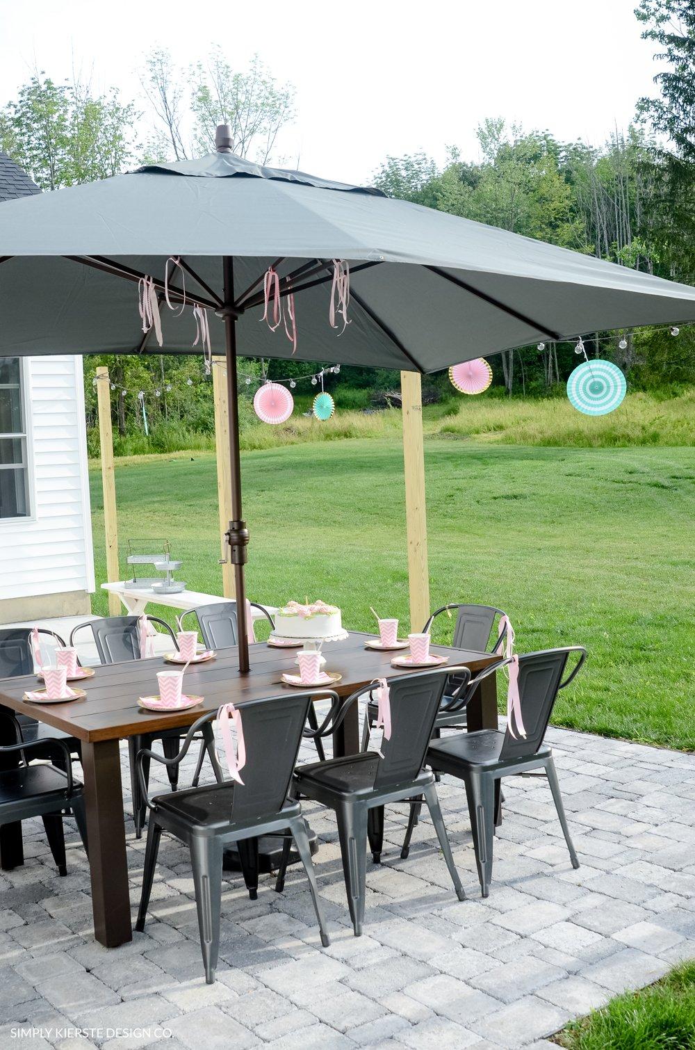 Outdoor Tween Girl Party for under $100 | oldsaltfarm.com