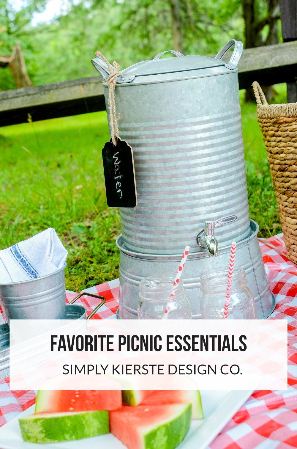 Favorite Picnic Essentials + Fun Date Night Idea | simplykierste.com