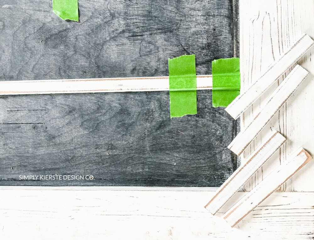 DIY Faux Chalkboard Window | Farmhouse Style | simplykierste.com