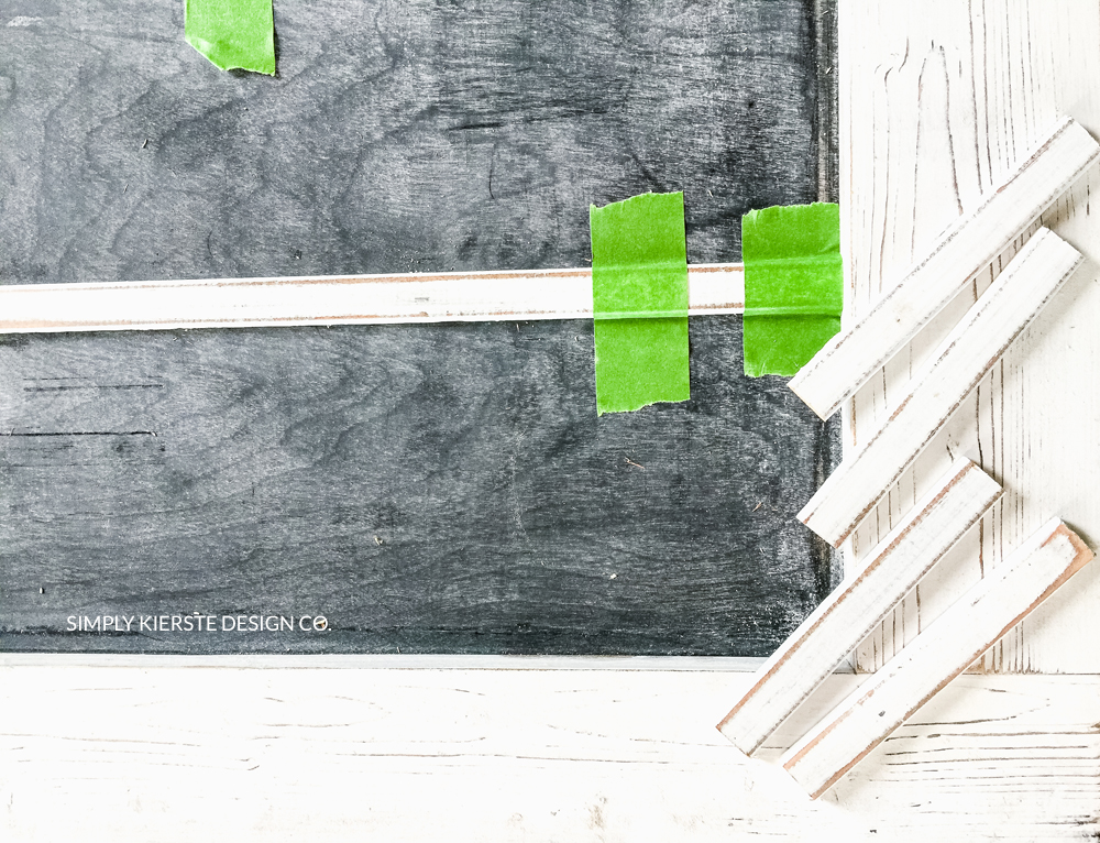 DIY Faux Chalkboard Window | Farmhouse Style | oldsaltfarm.com