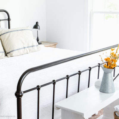 Farmhouse Bedroom:  Getting Ready For Fall!