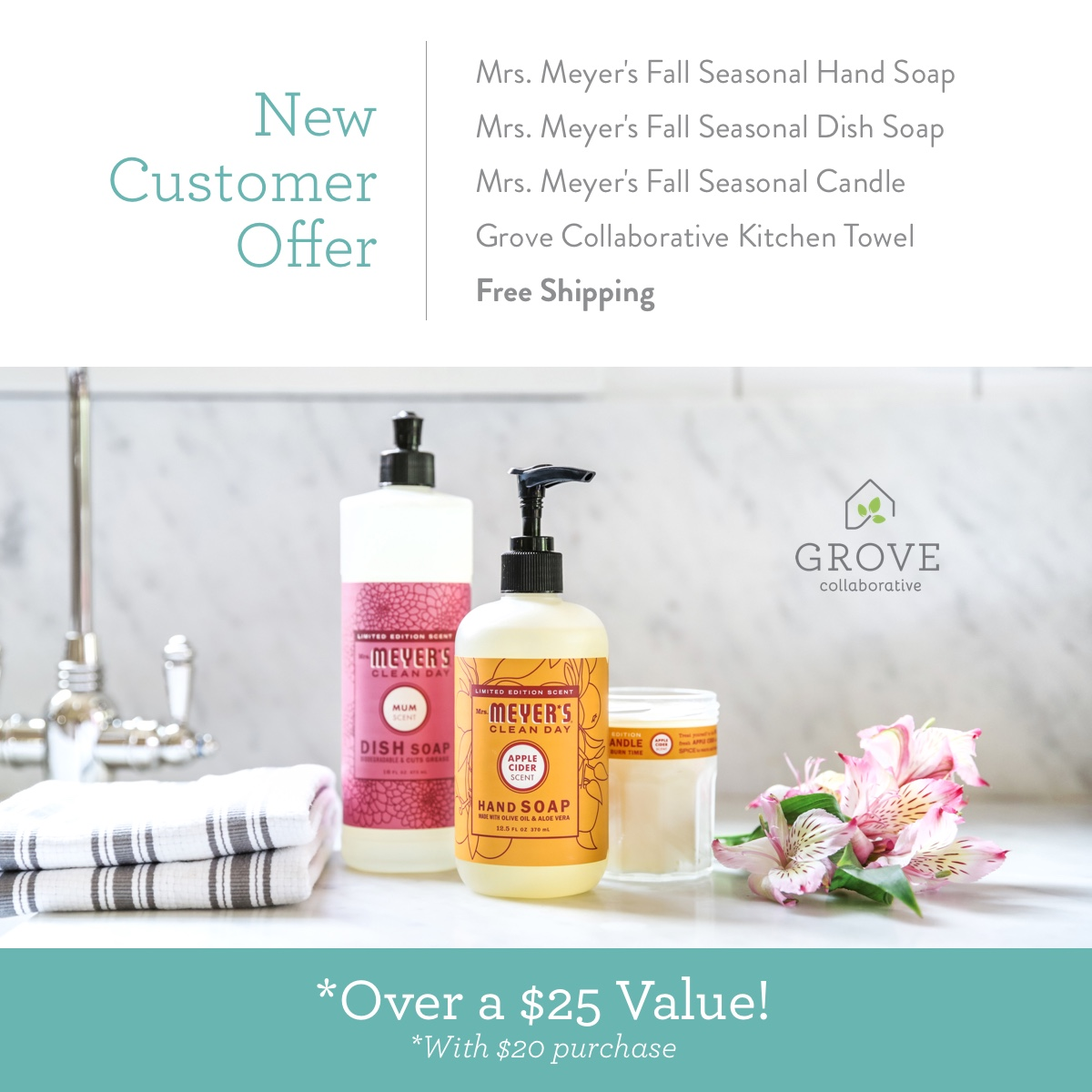 FREE Mrs. Meyer's Fall Scents | simplykierste.com