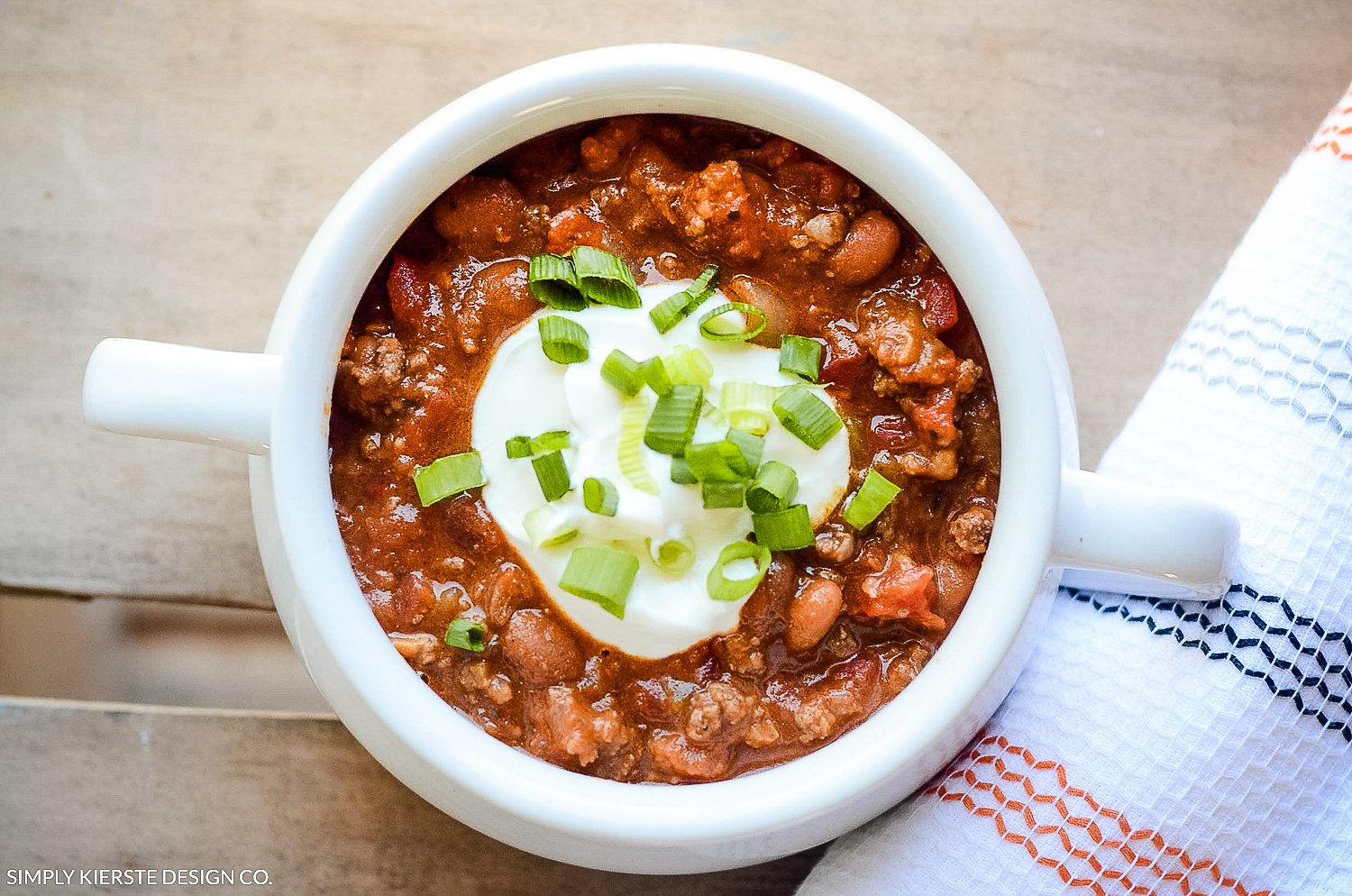 Cozy Taco Soup | Perfect for the Crockpot | simplykierste.com