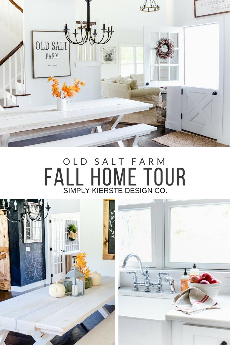 Fall Home Tour | Old Salt Farm | Farmhouse Style | oldsaltfarm.com