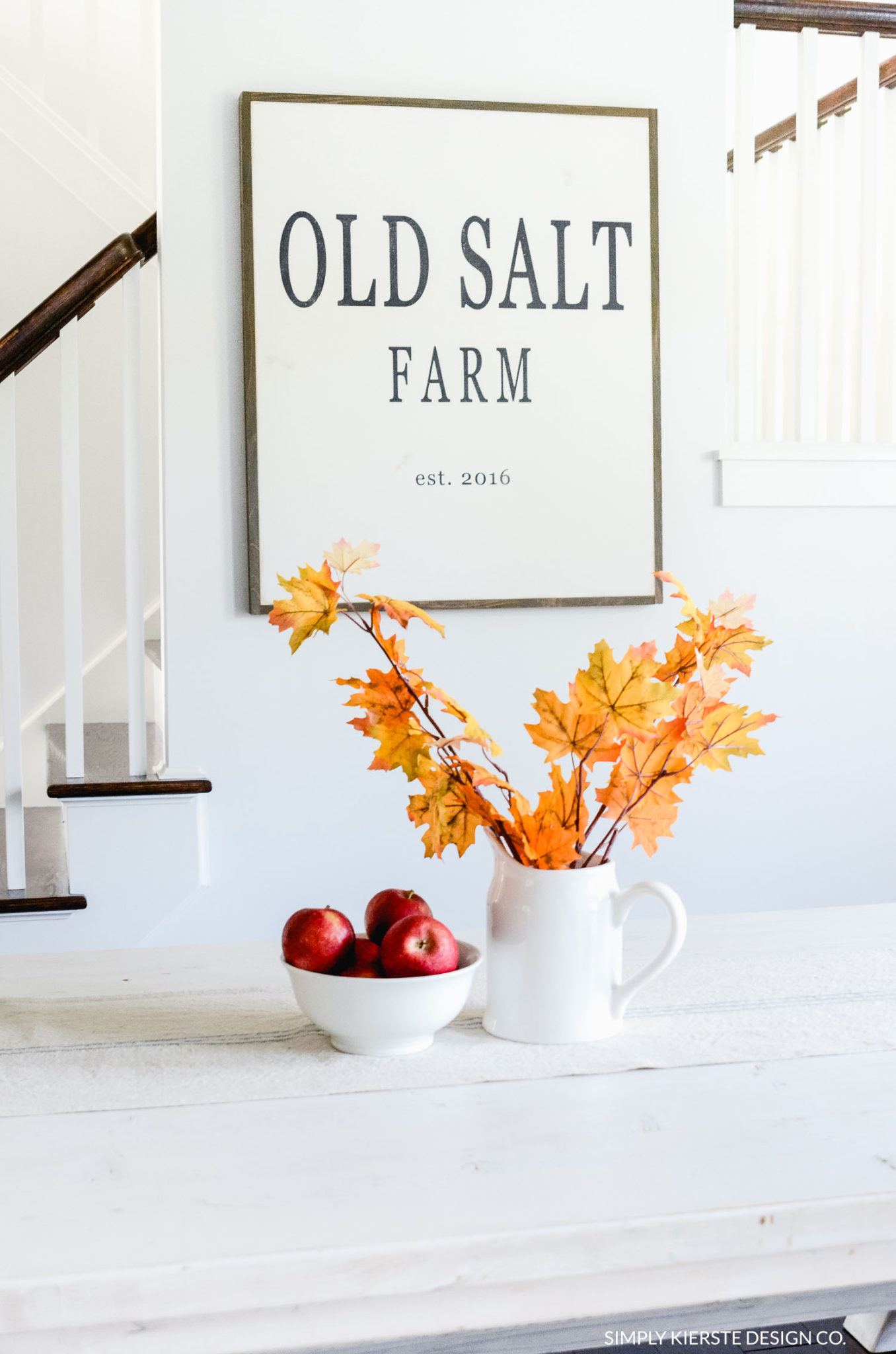 Fall Home Tour | Old Salt Farm| simplykierste.com