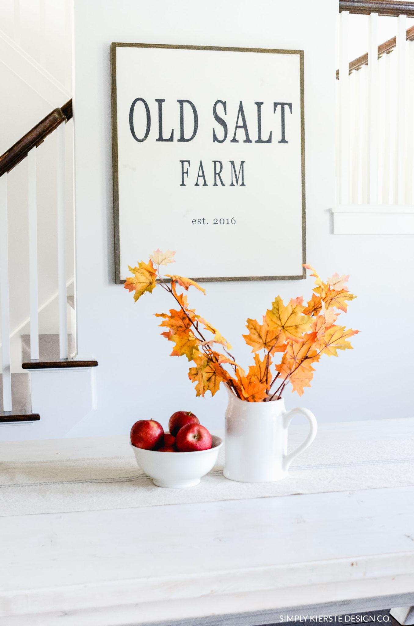 Fall Home Tour | Old Salt Farm| oldsaltfarm.com