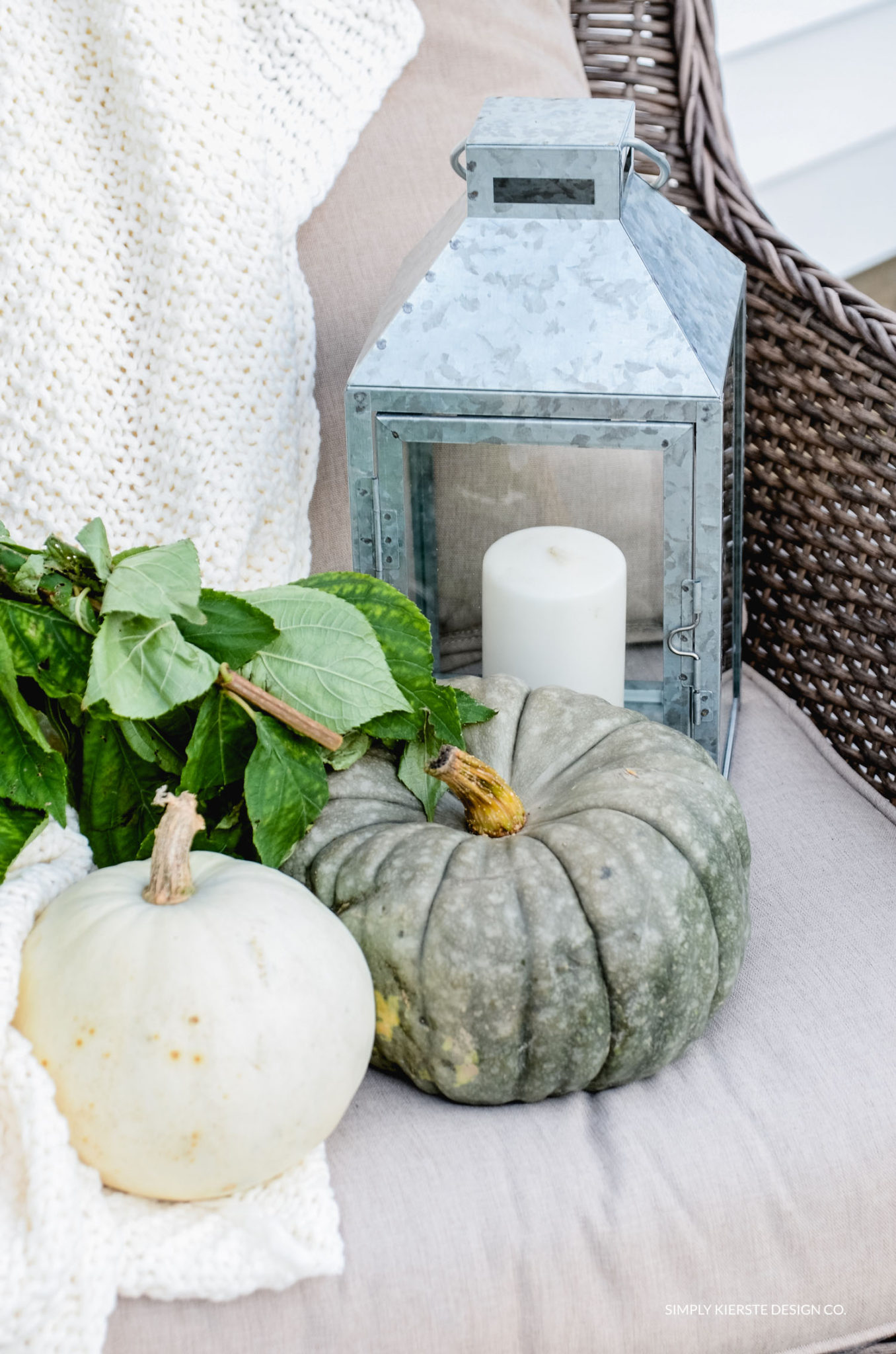 Simple Fall Porch | Better Homes & Gardens | Easy Fall Porch Ideas | simplykierste.com