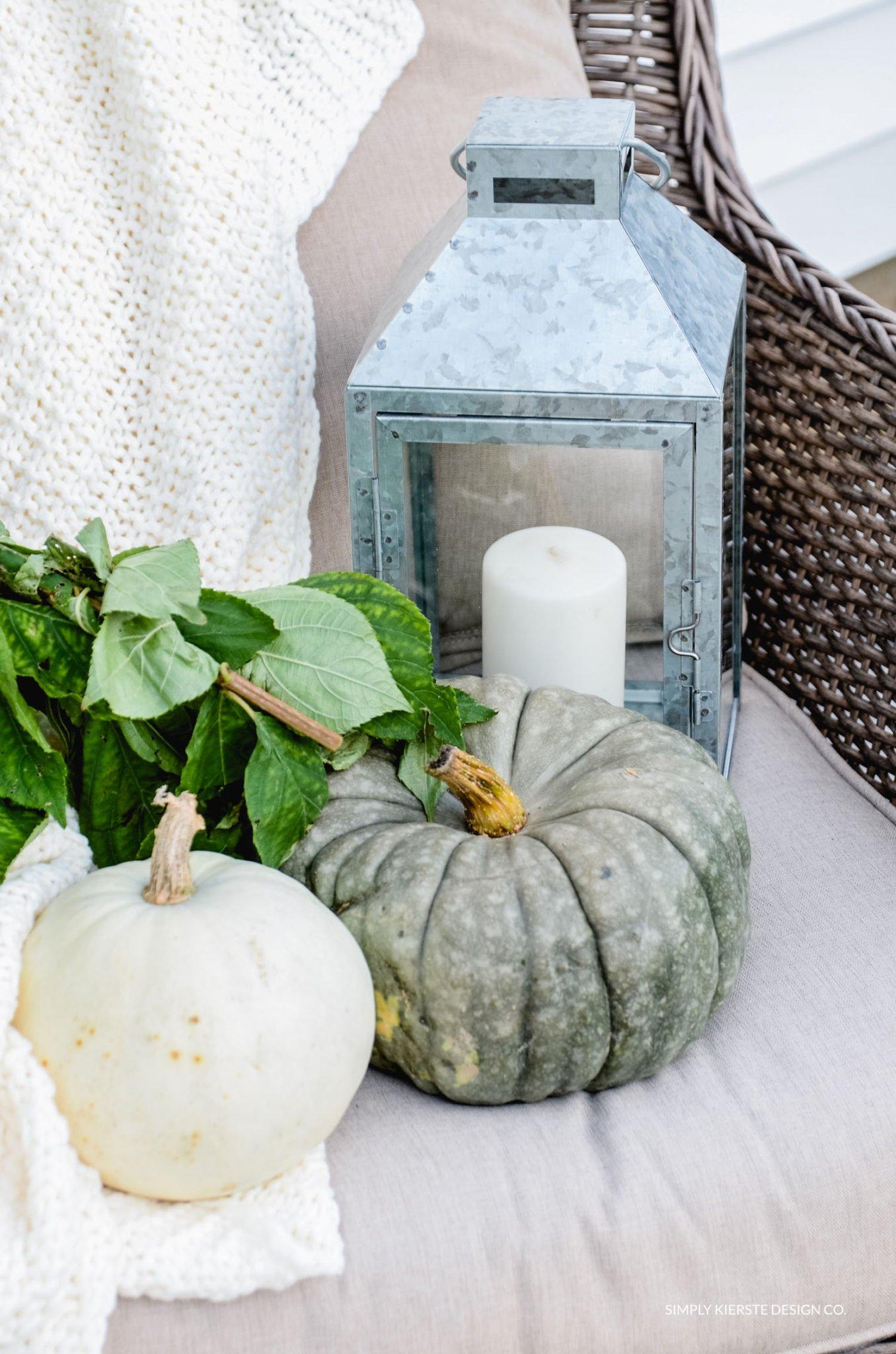Simple Fall Porch | Better Homes & Gardens | Easy Fall Porch Ideas | simplykierste.com