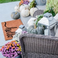 Old Salt Farm: Simple Fall Porch