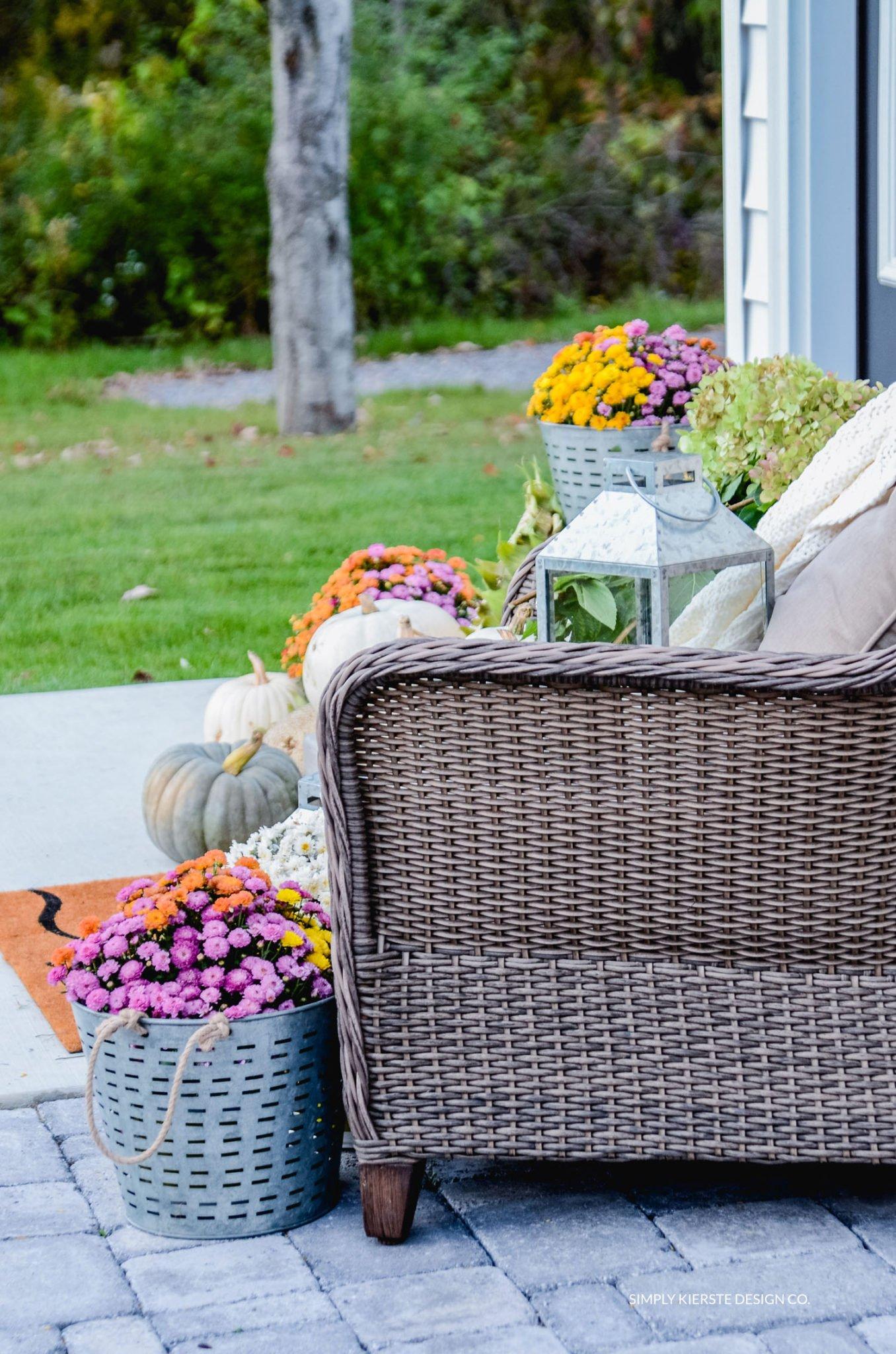 Simple Fall Porch | Better Homes & Gardens | simplykierste.com